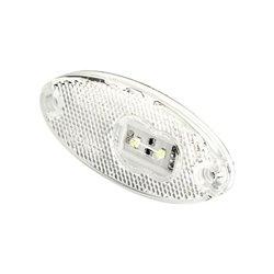 Lampa obrysowa LED, 309p 12 V - 24 V, przednia