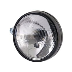 Reflektor ciągnikowy metalowy, prawy