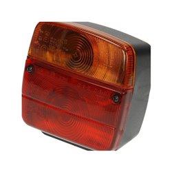 Lampa zespolona tylna, lewa, z podświetleniem, AJ.BA