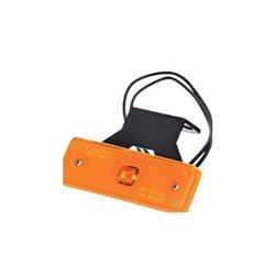 Lampa pozycyjna boczna LED, 217z, W-44, pomarańczowa, 12 V - 24 V