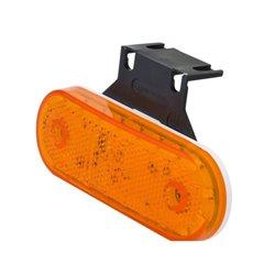 Lampa obrysowa LED, 534z, 12 V - 24 V, boczna