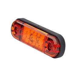 Lampa pozycyjna 12 LED, 714, 12 V - 24 V, 12, boczna