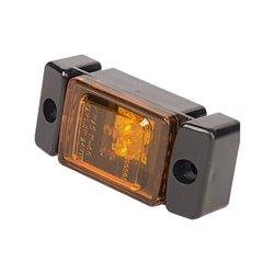 Lampa obrysowa LED, 278, W-60, 12 V - 24 V, boczna, pomarańczowa