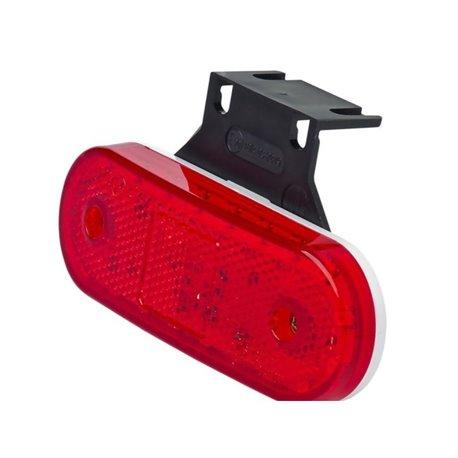 Lampa obrysowa LED, 230z, W-47, 12 V - 24 V, boczna
