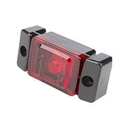 Lampa obrysowa LED, 280, W-60, 12 V - 24 V, tylna, czerwona