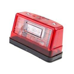 Lampa oświetlenia tablicy rejestracyjnej LED, 247, 12 V - 24 V