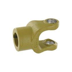 Widełki 1 Ø30 klin 8 mm do krzyżaka 22x55