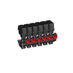Zawór Sekcyjny 6x Belki Elektryczny T5 By-Pass A-Net