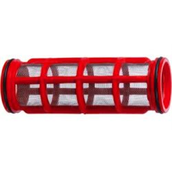 Wkład Filtra Inox 32mesh Ø 50 X 150 Czerwony