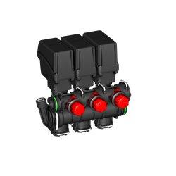 Zawór Sekcyjny 3x Belki Elektryczny T5 By-Pass A-Net