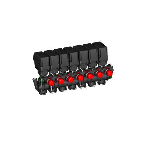 Zawór Sekcyjny 7x Belki Elektryczny T5 By-Pass A-Net