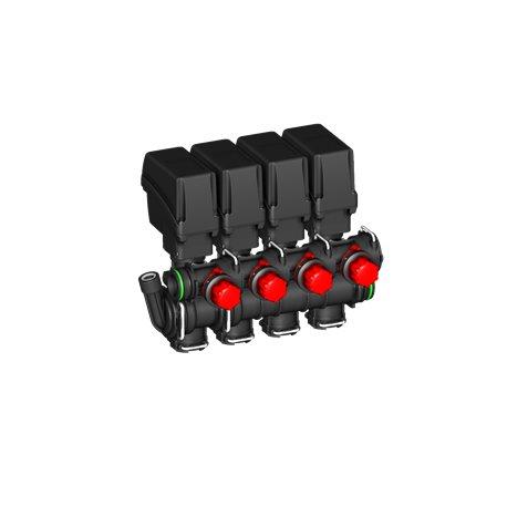 Zawór Sekcyjny 4x Belki Elektryczny T5 By-Pass A-Net
