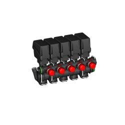 Zawór Sekcyjny 5x Belki Elektryczny T5 By-Pass A-Net