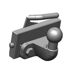 K50 tow ball coupler