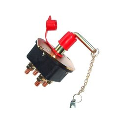 Wyłącznik główny akumulatora dwubiegunowego do zastosowań w trudnych warunkach