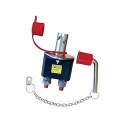Wyłącznik główny akumulatora do zastosowań w trudnych warunkach z systemem blokującym