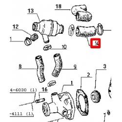 Wąż kolektor-termostat (7701017332)