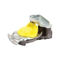 Złącze pneumatyczne dwuobwodowe żółte