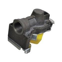 Złącze pneumatyczne dwuobwodowe żółte, M22 x 1.5