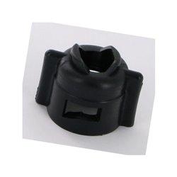 Nakrętka mocująca czarna SW11