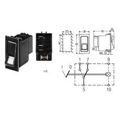 Przełącznik, kołyskowy 6FH4570121