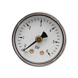 Manometr O40 0–6bar ⅛&amp034 tył