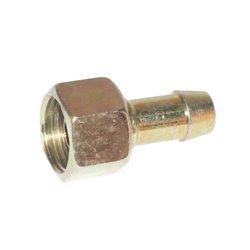 Końcówka wtłaczana prosta BSP z nakrętką DIN 2353, 1/4&amp034
