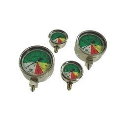 Manometr z przyłączem tylnym 100 mm, 0-5-20-25 1/2&amp034 BSP