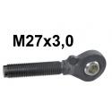 GŁÓWKI KULOWE ŁĄCZNIKA M27x3,0