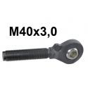 GŁÓWKI KULOWE ŁĄCZNIKA M40x3,0