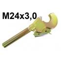 HAKI Z GWINTEM M24x3,0