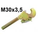 HAKI Z GWINTEM M30x3,5