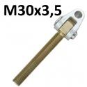 GŁÓWKI Z WIDEŁKAMI GWINT M30x3,5