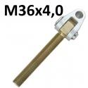 GŁÓWKI Z WIDEŁKAMI GWINT M36x4,0