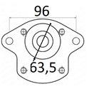 Pompy 96 fi63,5