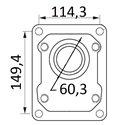 Pompy 149,4x114,3 fi 60,3