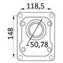 Pompy 148,1x118,5 fi50,78