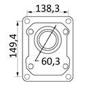 pompy 149,4x138,3 fi 60,3